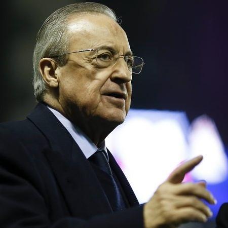 Florentino Pérez, presidente do Real Madrid - Getty Images