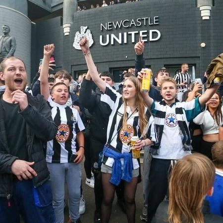Novo milionário: Fundo saudita compra Newcastle por R$ 2,2 bilhões - Reprodução/Twitter Newcastle United FC