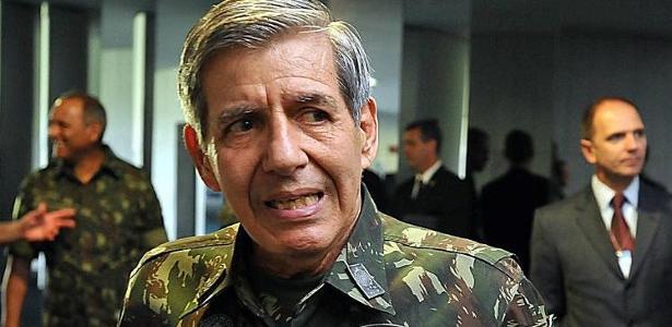 O general Augusto Heleno, indicado para ser o ministro da Defesa no governo de Jair Bolsonaro