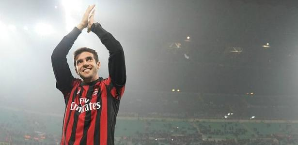 Ídolo do Milan, Kaká se aposentou em 2017 no Orlando City - Milan/Divulgação