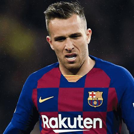 Arthur está de saída do Barcelona rumo à Juventus - GettyImages
