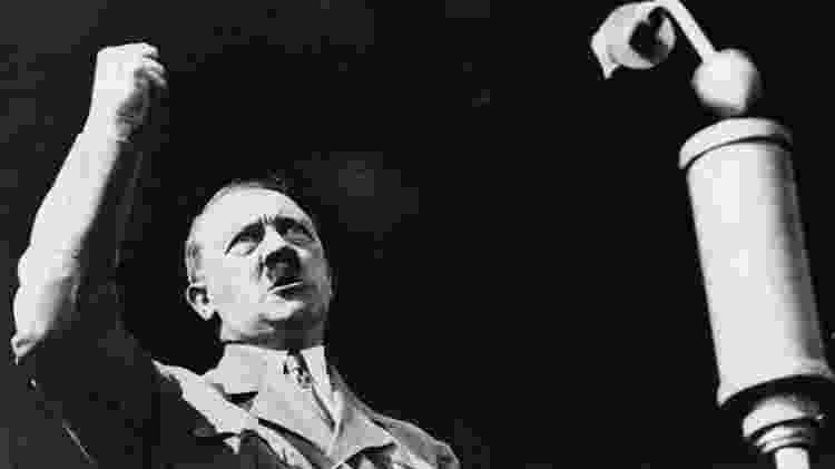 Adolf Hitler, o líder nazista - Getty Images - Getty Images