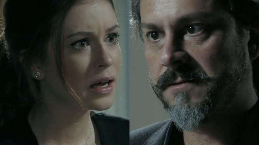 Maria Ísis e José Alfredo em Império (Reprodução - Globo) - Reprodução / Internet