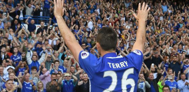 John Terry se despediu do Chelsea no fim de maio