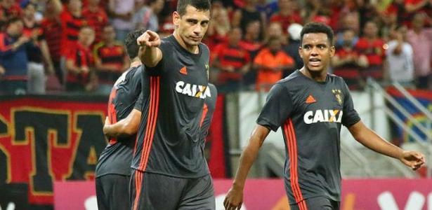 Diego Souza, Rithely e André estão fora do jogo de volta contra o Barranquilla - Sport Recife/Divulgação