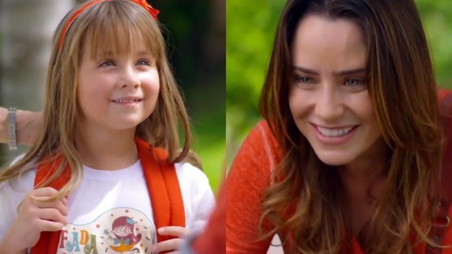 Julia  (Jesuela Moro) e Ana (Fernanda Vasconcellos) em cena ade A Vida da Gente (Reprodução: Globo) - Reprodução / Internet