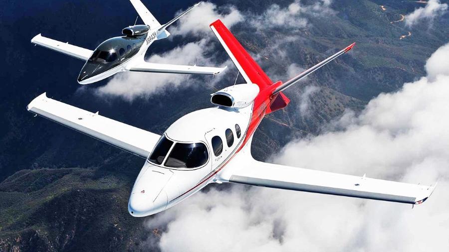 Cirrus SF-50 Vision Jet foi o mais entregue em 2020 - Divulgação