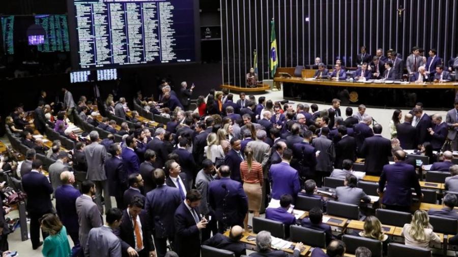 Só três dos 513 deputados não votaram o texto-base da reforma. Foto: Luis Macedo/Câmara dos Deputados - Só três dos 513 deputados não votaram o texto-base da reforma. Foto: Luis Macedo/Câmara dos Deputados