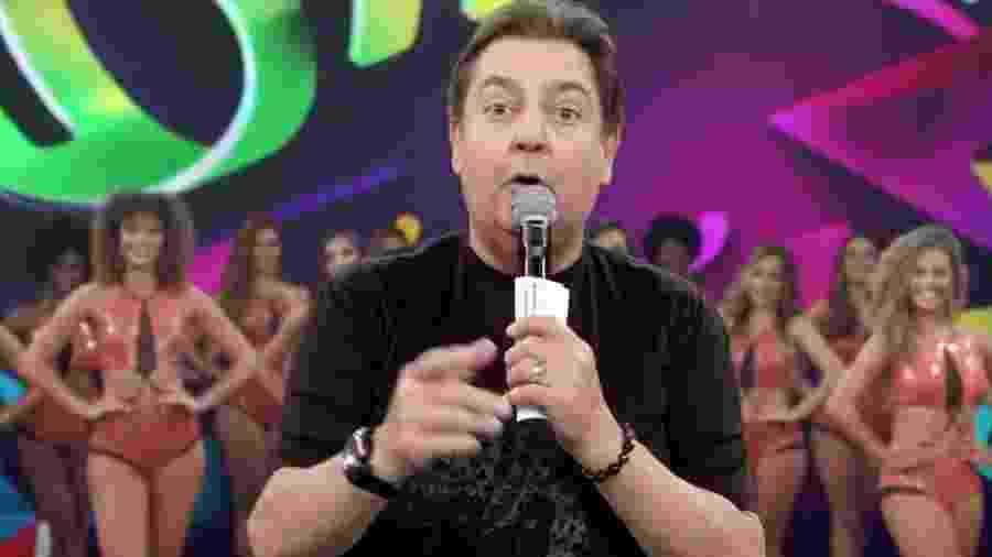 Fausto Silva no Domingão do Faustão (Reprodução/TV Globo). - Reprodução/TV Globo