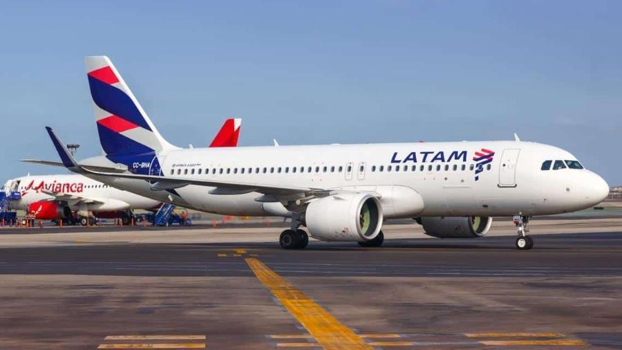 Avião Latam - iStock