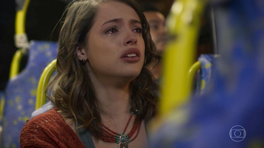 Camila (Agatha Moreira) em Haja Coração (Reprodução/TV Globo). - Reprodução / Internet