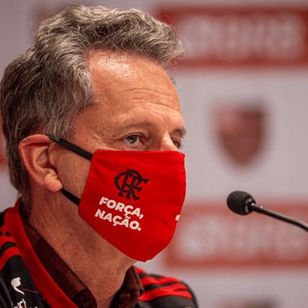 Landim, presidente do Flamengo - Marcelo Cortes / Flamengo