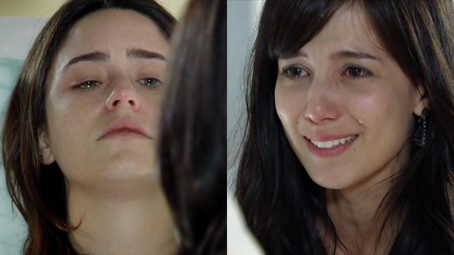 Ana (Fernanda Vasconcellos) e Manu (Marjorie Estiano) em cena de A Vida da Gente (Reprodução: Globo) - Reprodução / Internet