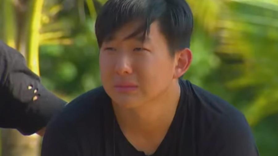 Pyong Lee no Ilha Record (Reprodução/Record TV). - Reprodução / Internet