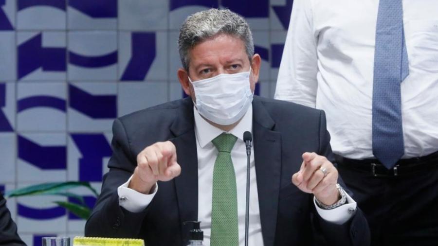 O presidente da Câmara, Arthur Lira  - Por Pedro Fonseca