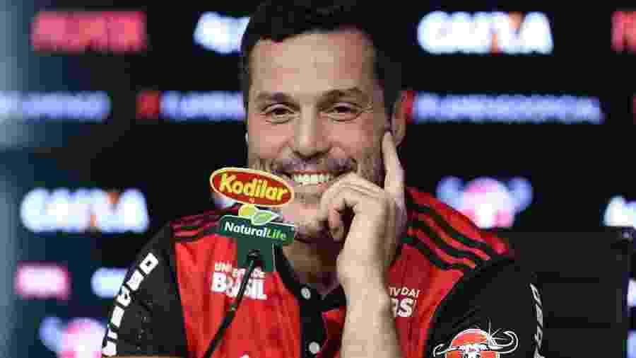 Júlio César está na reta final da carreira e vive a expectativa de defender o Flamengo - Gilvan de Souza/Flamengo