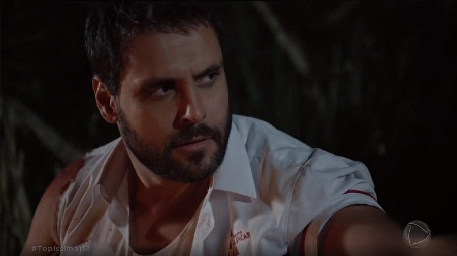 Antonio (Felipe Cunha) em Topíssima (Reprodução/Record TV). - Antonio (Felipe Cunha) em Topíssima (Reprodução/Record TV).