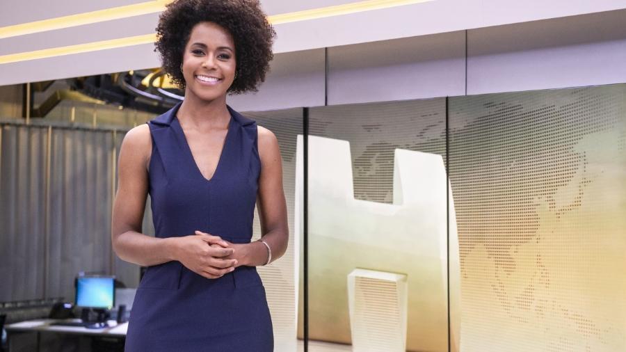 """Maria Júlia Coutinho, a Maju, é um dos destaques da programação da Globo no jornal """"Hoje"""" - Divulgação/TV Globo"""