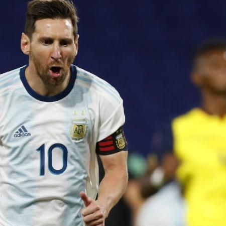 Messi deve atuar pela Argentina no dia 30 de março, diante do Brasil, aqui em Pernambuco. - AGUSTIN MARCARIAN / AFP