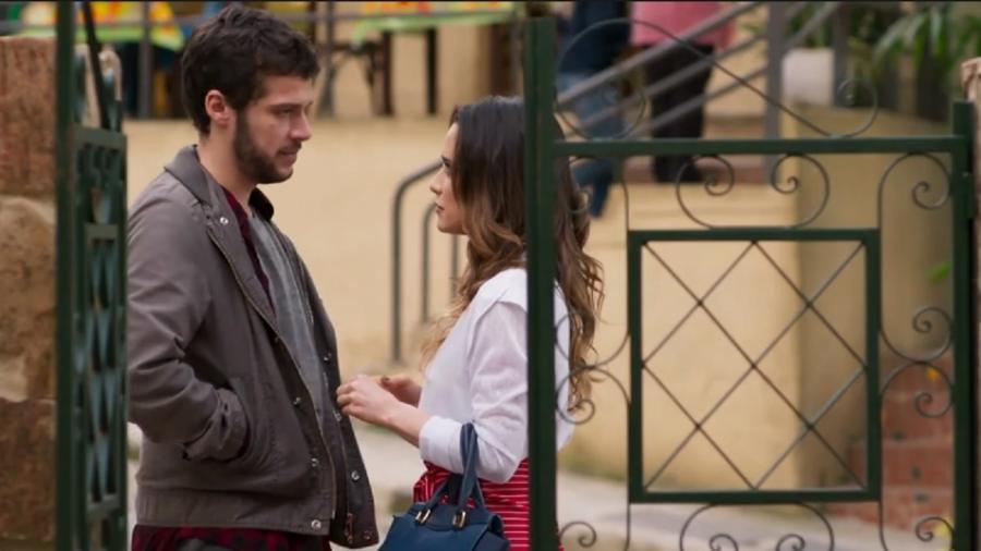 Giovanni e Bruna, de Haja Coração (Reprodução/Globo) - Reprodução / Internet