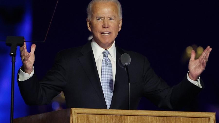 Joe Biden, presidente dos Estados Unidos                              - Biden pede que Congresso dos EUA aprove novo pacote de ajuda da covid-19