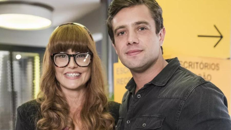 Alexia/Josimara (Deborah Secco) e Renzo (Rafael Cardoso) em Salve-se Quem Puder (Reprodução/Globo) - Reprodução / Internet
