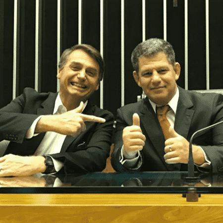 Bebianno e Bolsonaro já foram extremamente ligados  - Reprodução/Instagram