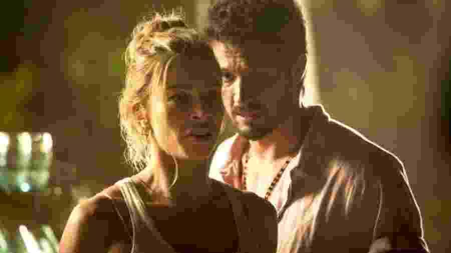 Paloma (Grazi Massafera) e Marcos (Rômulo Estrela) em Bom Sucesso (Reprodução/TV Globo). - Paloma (Grazi Massafera) e Marcos (Rômulo Estrela) em Bom Sucesso (Reprodução/TV Globo).