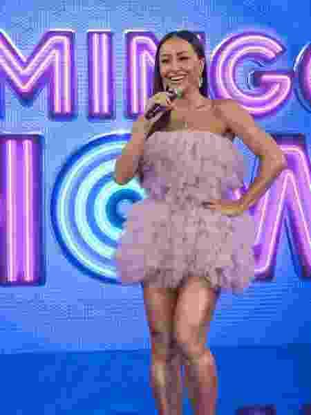 Domingo Show com Sabrina Sato (Marcus Godoy/Record TV). - Reprodução / Internet