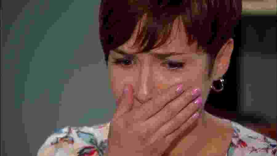 Letícia (Amanda Acosta) em cena de Chiquititas (Reprodução / SBT) - Reprodução / Internet