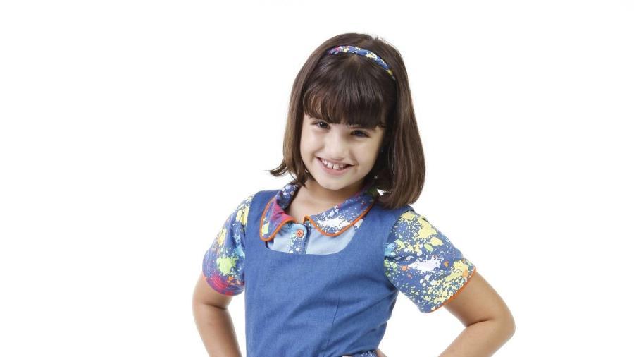 Carolina Chamberlain como Dani em Chiquititas (Lourival Ribeiro / SBT) - Reprodução / Internet