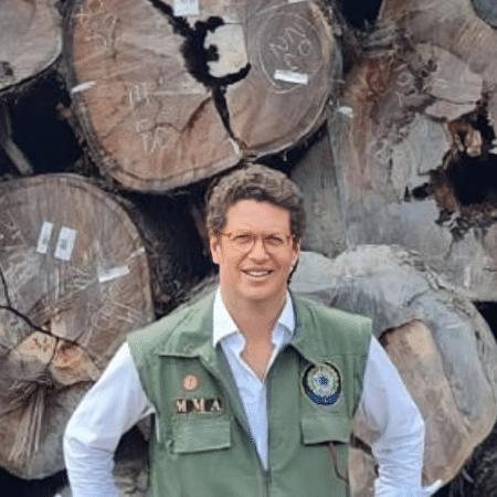 Delegado do Amazonas enviou ao STF notícia crime contra Salles - Reprodução
