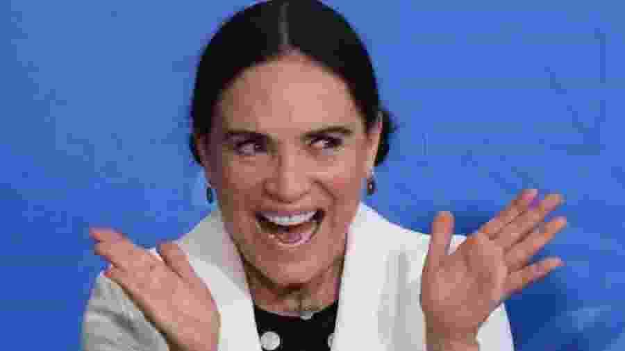 A atriz Regina Duarte, ex-secretária da Cultura, segue recebendo R$ 15 mil sem ter função no governo - Reprodução / Internet