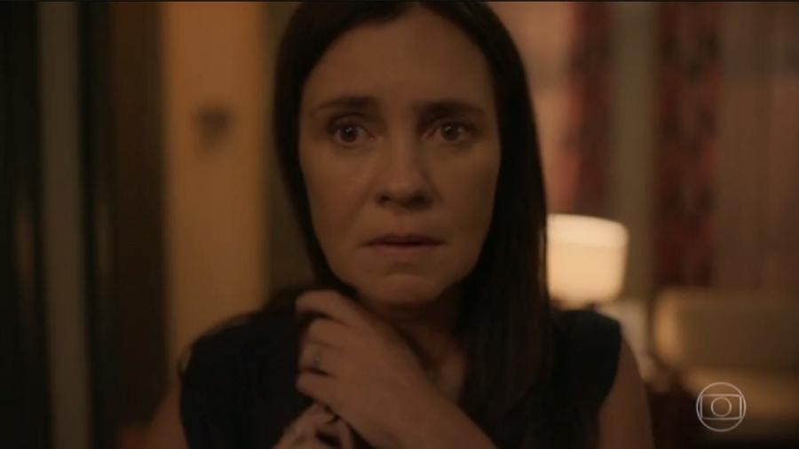 Thelma (Adriana Esteves) de Amor de Mãe (Reprodução/TV Globo) - Reprodução / Internet