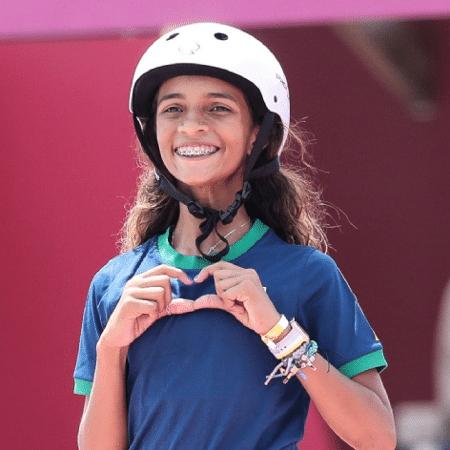 Rayssa Leal, a fadinha, conquistou a prata no skate street da Olimpíada de Tóquio - Wander Roberto/COB
