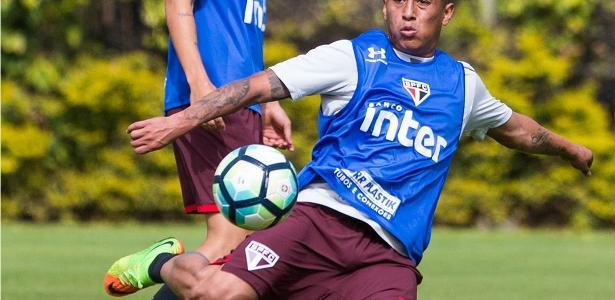 Cueva é a aposta do São Paulo para enfrentar o líder Corinthians