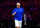 Federer bate Isner e mantém sonho do tri na Laver Cup - (Sem crédito)
