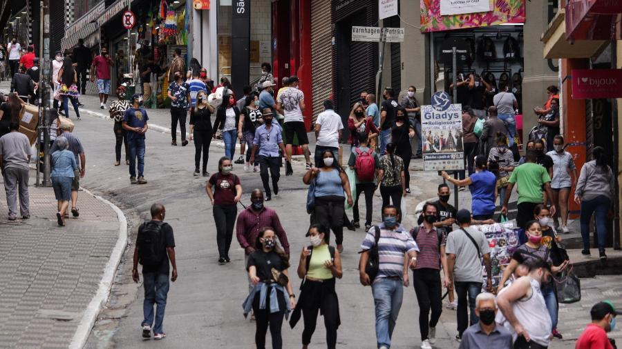 Vendas de fevereiro do comércio paulistano têm queda de 6,1% - Ananda Migliano/O Fotográfico/Estadão Conteúdo