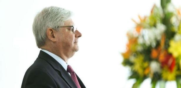 O procurador-geral da República, Rodrigo Janot, que pediu a prisão de Joesley