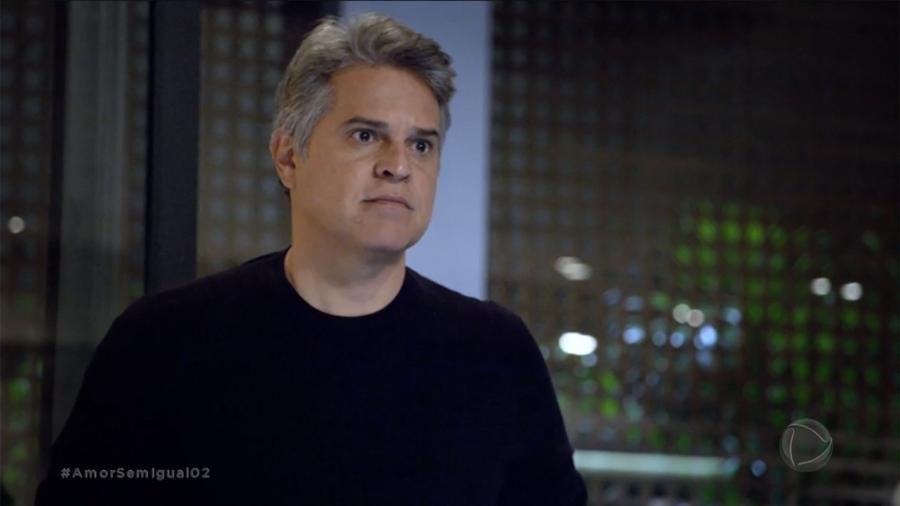 Ramiro (Juan Alba) em Amor Sem Igual (Reprodução/Record TV). - Reprodução/Record TV