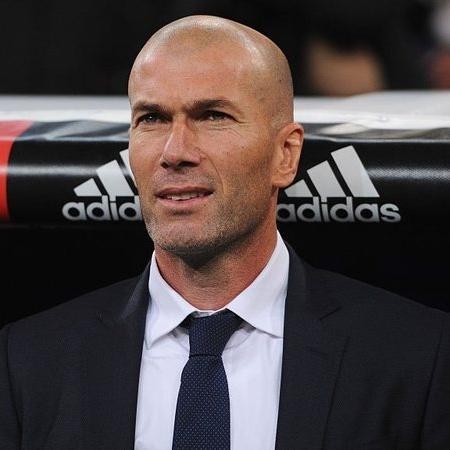 Zidane em ação pelo Real Madrid - GettyImages