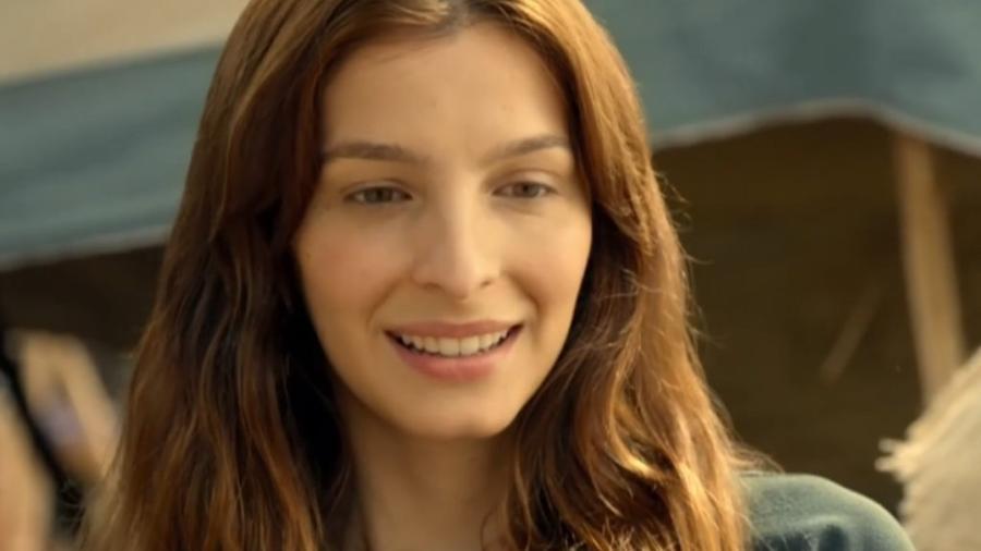 Lia (Michelle Batista) em Gênesis (Reprodução/Record TV) - Reprodução / Internet