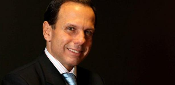 O prefeito de São Paulo, João Doria (PSDB)