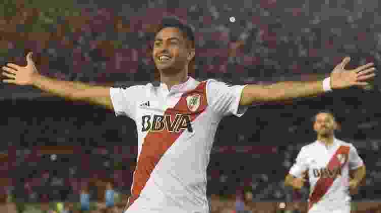 Gonzalo Pity Martínez, do River Plate (Foto: CA River Plate) - River Plate - River Plate