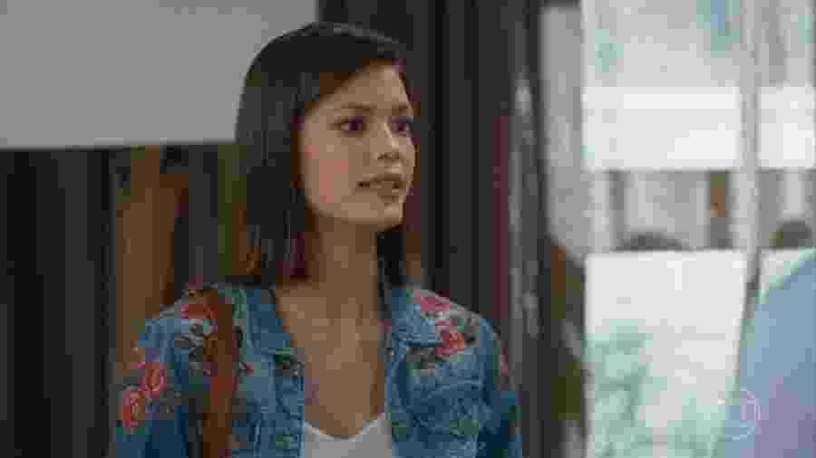 Kyra (Vitória Strada) em Salve-se Quem Puder - Reprodução/TV Globo