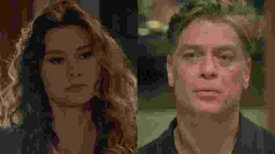 Natasha (Lavínia Vlasak) e Arthur (Fábio Assunção) de Totalmente Demais (Reprodução - TV Globo)  - Reprodução / Internet