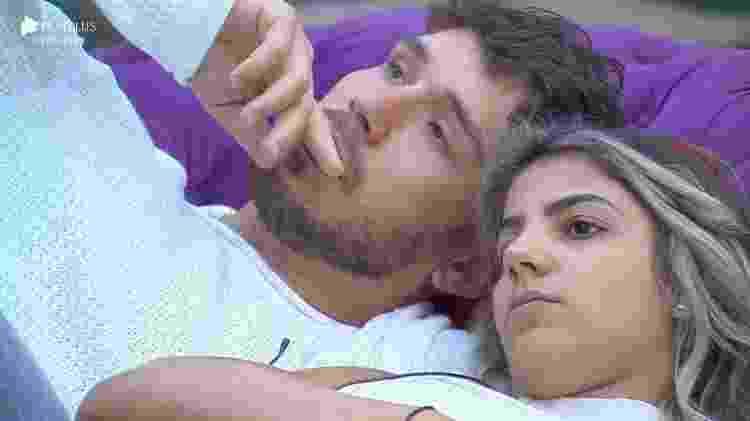 lucas2 - Lucas Viana e Hariany Almeida (Foto: Reprodução/ Record TV)  - Lucas Viana e Hariany Almeida (Foto: Reprodução/ Record TV)