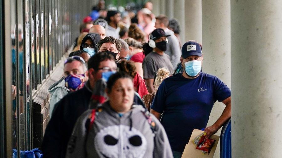 Novos pedidos de seguro-desemprego nos EUA no menor nível desde o início da crise - Reuters