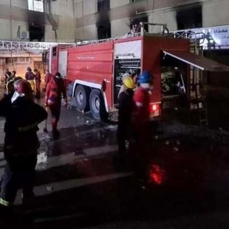 Ministro da Saúde iraquiano renuncia por incêndio em hospital - Reprodução/Facebook