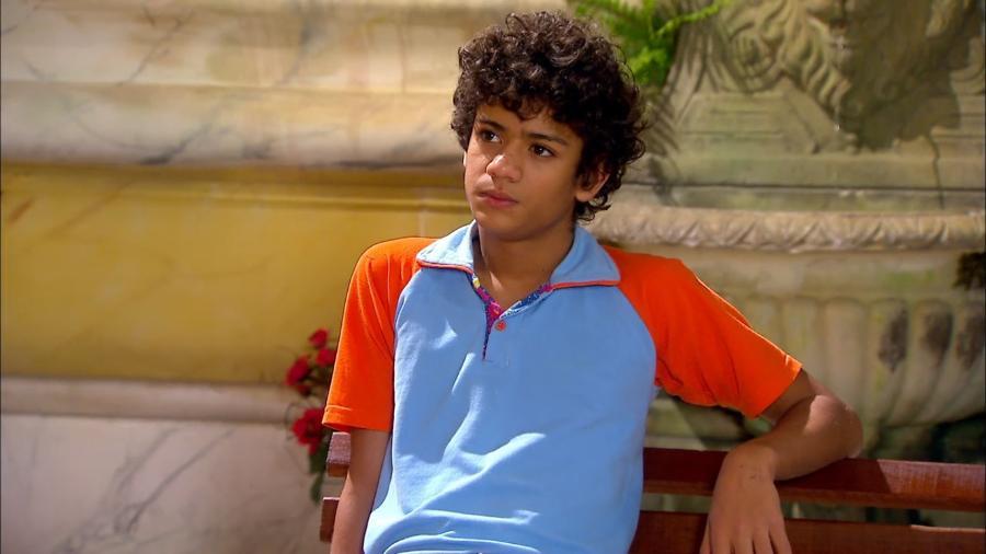 Mosca (Gabriel Santana) em cena de Chiquititas (Reprodução / SBT) - Reprodução / Internet